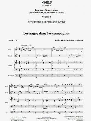 DC00268-Noëls-2 fl.-Vol.2-Extraits-daCamera
