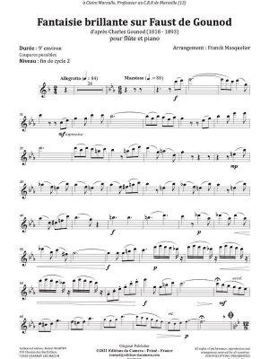 DC00425 – Fantaisie brillante sur Faust de Gounod – Flute – Extrait